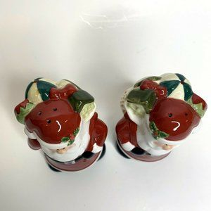 Harry and David Holiday - Harry and David Santa Salt and Pepper Shakers